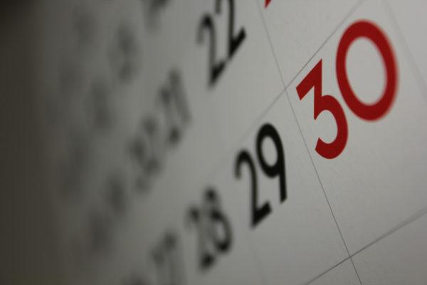Calendar* by Dafne Choley, CC-BY, https://www.flickr.com/photos/dafnecholet/5374200948/