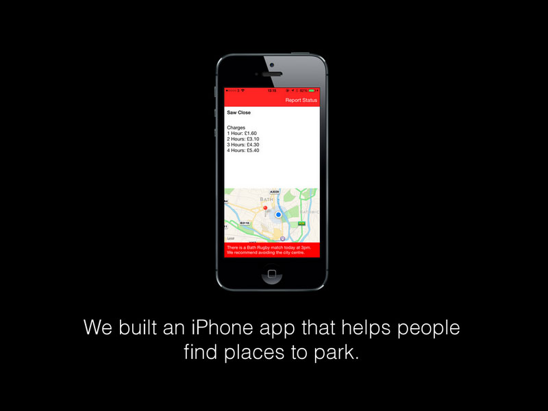 Bath City Parking iPhone app
