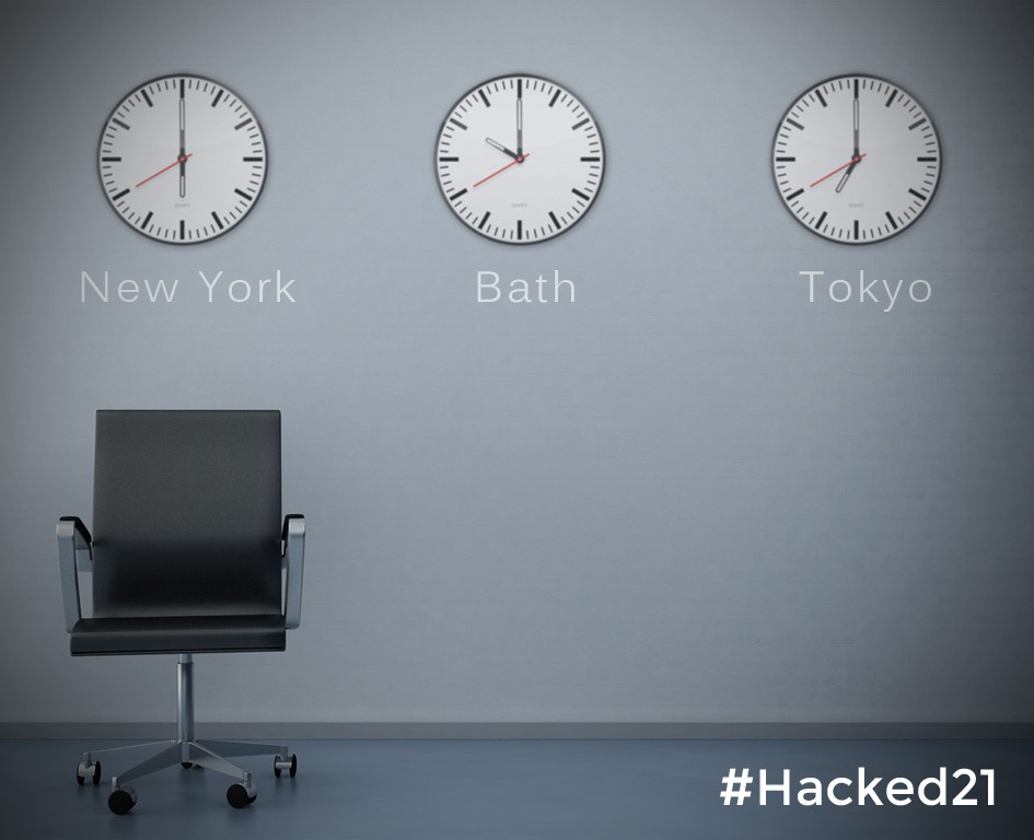 Hacked 2.1 starts 10am Saturday 1st November