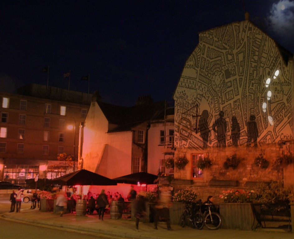 Bath Timetracks projection
