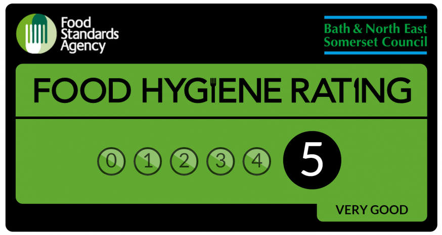 Food Hygiene Rating card