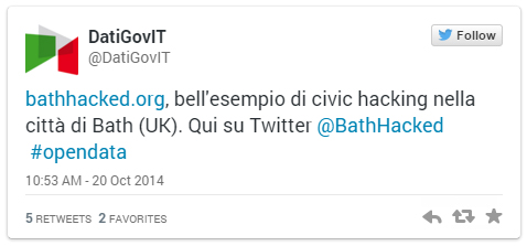 Italian Govt. loves Bath: Hacked