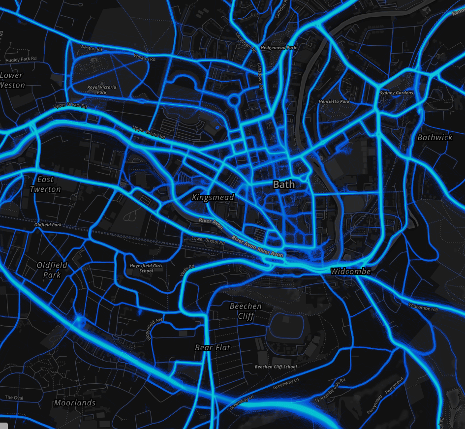 Strava Metro: what can it tell us about cycling in Bath? - Bath ...